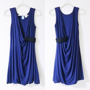 Barneys New York CO-OP - Blue Draped Dress